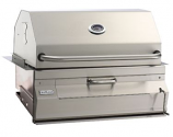 Legacy 14S101CA Built In Charcoal Grill with Oven/Hood