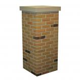 "Flexi-Brick Desert Chimney Surround 18"""