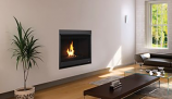 "Superior 45"" Top or Rear Vent Louver less Electronic Fireplace - NG"