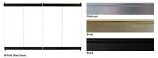 "Superior BD42P Standard Bi-Fold Platinum Glass Door for 42"" Fireplace"