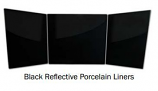 Superior PLZ36 Black Porcelain Liner for Vent-Free Firebox