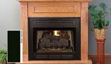 "Superior VCT3036B 36"" Vent-Free Louver Face Black Interior Firebox"