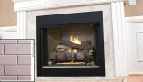 """42"""" Tall Vent-Free Universal Circulating Firebox, White Stacked Liner"""