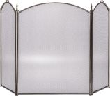 Arched 3 Fold Pewter Screen - 32 inch