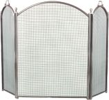 Arched 3 Fold Pewter Screen - 29 inch