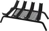 6 Bars Black Steel Grate - 29 inch