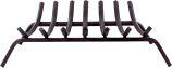 7 Bars Black Square Steel Grate - 3/4 inch