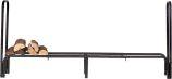 Black Adjustable Log Holder Steel - 32 inch