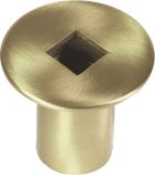 Antique Brass Gas Valve Cover - 2 inch