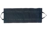 Black Canvas Log Carrier - 39.5 inch