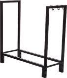 Black Steel Log Holder - 30 x 30 inch
