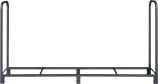 Black Steel Log Holder - 96 x 49 inch