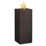 Baltic Propane Fire Column, Kodiak Brown