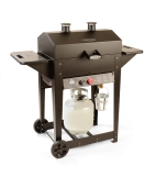 Holland Grill's The Liberty Grill � Steel Cart with Wheels