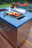 Rio All Seasons Built-In 120V Electric BBQ Grill by Kenyon Custom
