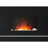 "26"" Electric Wall-Mount Fireplace with Remote Control"