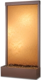 8' Copper Vein Grande with Bronze Mirror Fountain