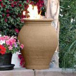 Amphora Cafe Blanco Fire Urn - Liquid Propane