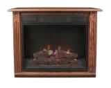 Dark Oak Electric Fireplace