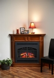 """Columbia Cabinet with 34"""" Built In Arch Rectangular Front"""