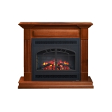 """Rio Grande Cabinet with 34"""" Built-In and Arch Rectangular Front"""