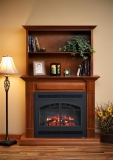 """Rio Grande Cabinet with 41"""" Built-In and Arch Rectangular Front"""