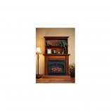 "Rio Grande Bookshelf Cabinet for 41"" Gallery Fireplace - Cherry"