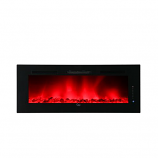 Caesar Hardware Luxury Linear Electric Fireplace, 74-Inch