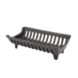 "16"" Cast Iron Fireplace Grate with 2.5"" Legs"