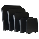 Fireplace Fire Back - 15 x 15 - Black