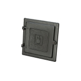 Liberty Foundry Clean Out Door - 8 x 8 - Black