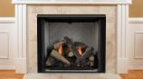 "32"" Lo-Rider Clean Face Firebox with Herringbone Refractory Firebrick"