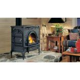 DutchWest Classic Black Catalytic Stove - Small Convection