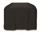 60-inch Cart Style Grill Cover with Velcro Tabs - Black