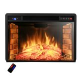 "AKDY AFPEF0528 - 28"" Insert Freestanding Electric Fireplace Heater"