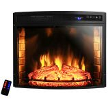 "AKDY AFPEF0628 - 28"" Insert Freestanding Electric Fireplace Heater"