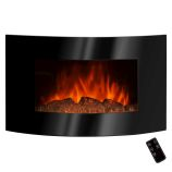 "Golden Vantage GFP520ALB - 36"" Wall Mount Electric Fireplace Heater"