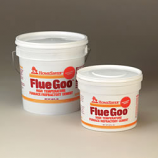 Homesaver Flue Goo Furnace/Refractory Cement Pre-Mixed 1/2 Gal. -Black