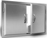 "Agape Series Stainless Steel 45"" Double Door"