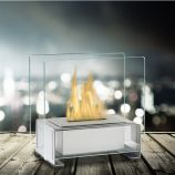 Stainless Steel Paris Tabletop Ethanol Fuel Fireplace