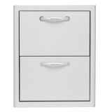 Blaze 16 Inch Double Access Drawer