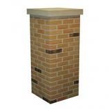 "Flexi-Brick Burnt Red Chimney Surround, 18"""