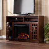 Akita Media Electric Fireplace-Espresso