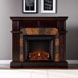 Cypress Electric Fireplace-Espresso