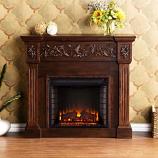 Huntington Electric Fireplace-Espresso