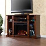 Murdock Media Electric Fireplace - Espresso