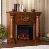 Romano Electric Fireplace - Salem Antique Oak