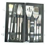 10 Piece Stainless Steel BBQ Tool Set with Carry Case - Sunstone