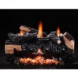 "24"" Cumberland Char Log Set, Lp, Variable Flame"
