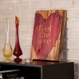 Holly & Martin Swoon Wall Panel - Feel The Love